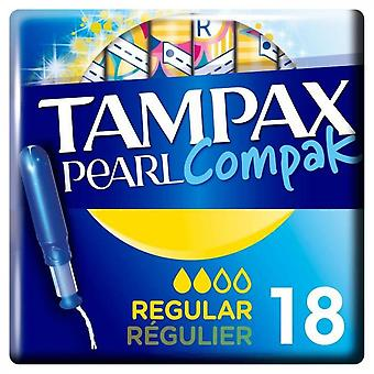 Tampax Regular Tampons With Applicator - Sold By 18