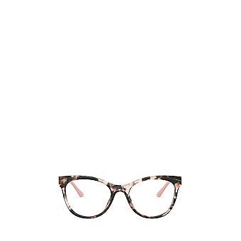 Prada PR 05WV rosa havana óculos femininos