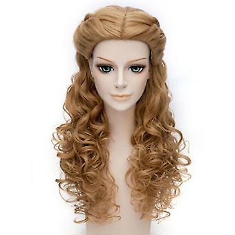 Волна синтетических волос с косами для Дейенерис Таргариен Костюм Косплей Парики