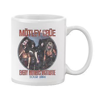 Motley Crue, Mother's Nightmare Mug Unisex's -Motley Crue Designs