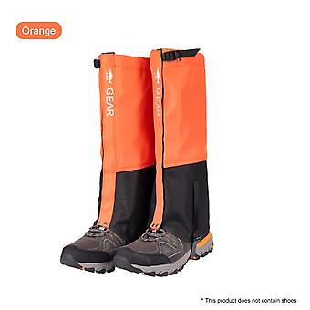 Hiking climbing waterproof snow legging gaiters for men and women skiing desert snow boots shoes covers