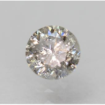 Certificado 0.45 Quilates I Cor SI3 Rodada Brilhante Natural Diamante Solto 4.81m 3VG