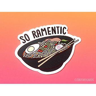 Ramen Vinyl Sticker - inso Ramenticin