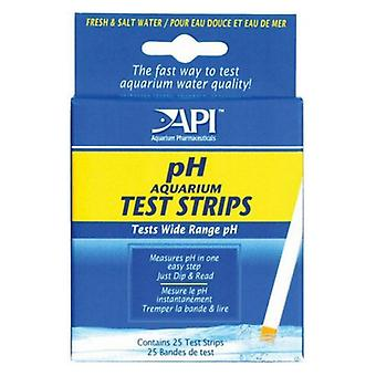 API pH Test Strips - 25 Strips