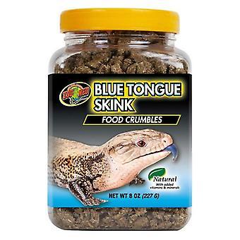 Zoo Med Blue Tongue Skink Food Crumbles - 8 oz