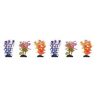 Penn Plax Betta Taille Plastique Plante 4 «Value Pack Couleurs assorties - 4» de large