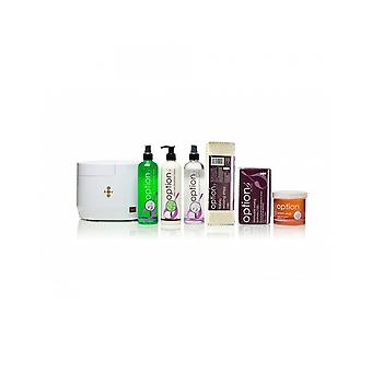 Hive Of Beauty Waxing Digital Heater 1 Litre Warm Honey Wax Hair Removal Kit