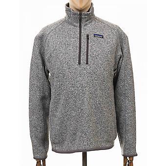 Patagonia Better Sweater 1/4-zip Fleece - Stonewash