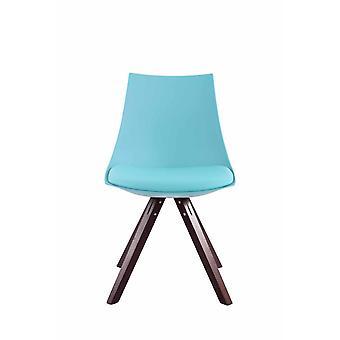 Esszimmerstuhl - Esszimmerstühle - Küchenstuhl - Esszimmerstuhl - Modern - Blau - Holz - 47 cm x 53 cm x 81 cm