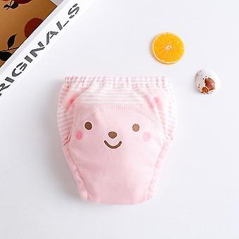Cartoons Pattern Cotton Baby Reusable Diaper