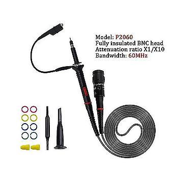 1Set hoge kwaliteit p6100 oscilloscoop sonde dc-6mhz dc-100mhz scope clip probe gratis verzending (P2060