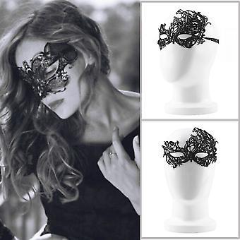 Sexy Lace Eye Mask Venetian Masquerade Ball Halloween Fancy Dress Costume