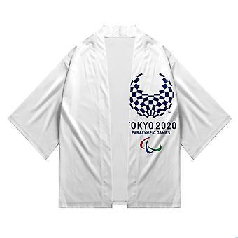 Tokyo Paralympics & Tokyo-OL 3d-printing og farging mote cardigan kimono