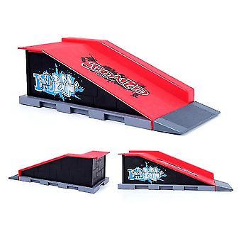 Qian Mini Finger Skating Board Skate Park Kit Children Venue Combination Skateboard Ramp Track