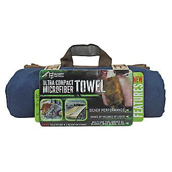 McNett Tactical Microfiber Ultra Compact Towel - Navy Blue