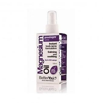 Betteryou - Magnesium Oil Goodnight Spray 100ml
