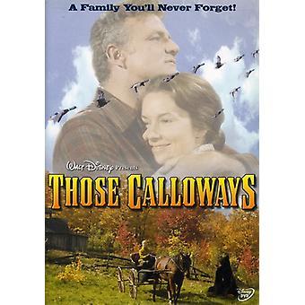 Importer ces Calloways [DVD] é.-u.