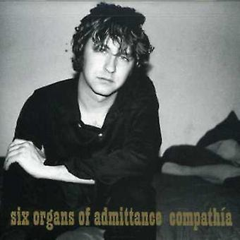 Six Organs of Admittance - Compathia [CD] USA import