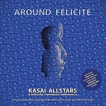 Kasai Allstars & Orchestre Symphonique Kimbanguiste - Around Felicite [Vinyl] USA import