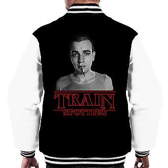 Trainspotting T2 idegen dolgok tizenegy Renton férfiak ' s Varsity Jacket
