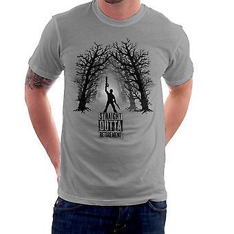 The Comeback Ash Vs Evil Dead Straight Outta Retirement Men's T-Shirt