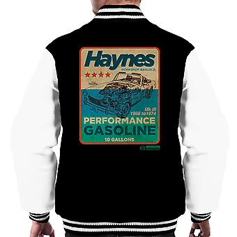 Haynes MG MGB Performance Gasoline Men's Varsity Jacket