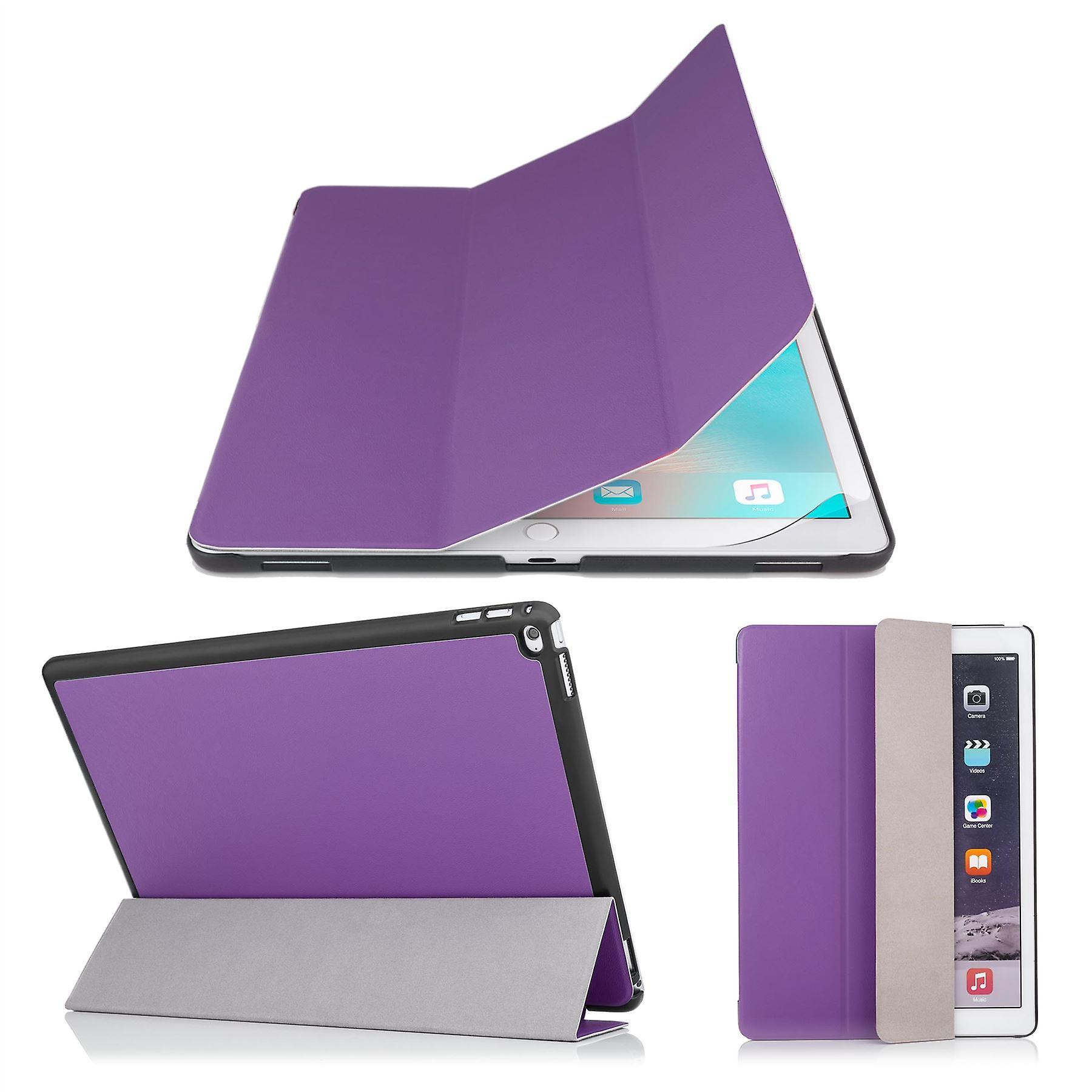 Smart Cover case + stylus for Apple iPad Pro 9.7 inch (2016) - Purple