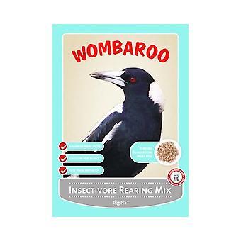Wombaroo Insectivore kasvatuksen Mix 1kg