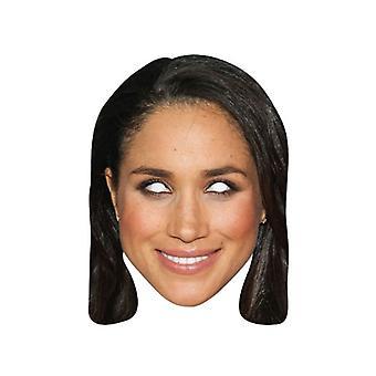 Meghan Markle Single Royal Card Party Fancy Dress Mask