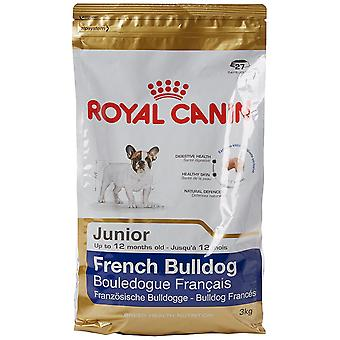 Royal Canin Dog Food französische Bulldogge Junior Dry Mix 3 Kg