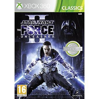 Star Wars Force Unleashed II (Xbox 360)-fabriks forseglet