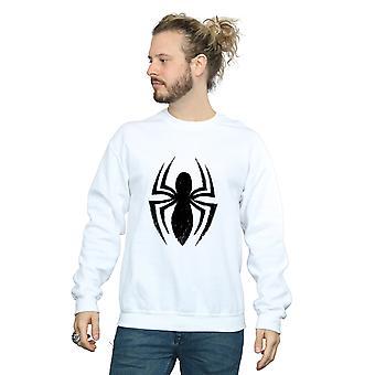 Verwonder u mannen Spider-Man-Ultimate Spider Logo Sweatshirt