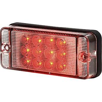 SecoRüt High-performance LEDs Rear fog lamp Rear fog lamp rear 12 V, 24 V Red Clear glass