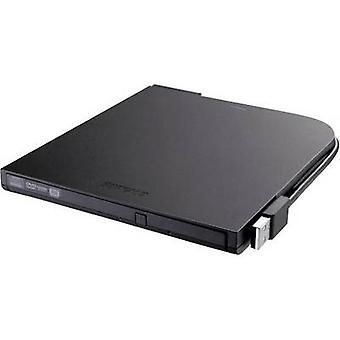 Buffalo DVSM-PT58U2VB-EU ekstern DVD-brenner Retail USB 2.0 svart