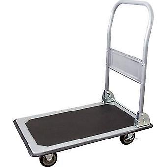 pro-Bau-TEC® 14020 plochý sklápěcí vozík, brzdový ocelový plech nosnost (max.): 150 kg