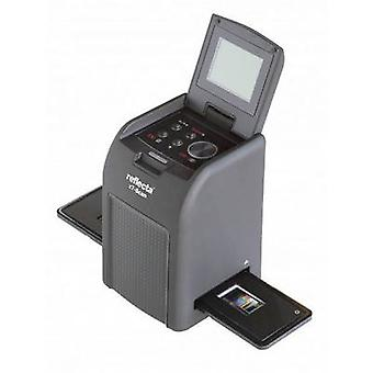スライド スキャナー、負のスキャナー Reflecta X7 スキャン 3200 dpi ホコリやスクラッチの除去: ソフトウェア ディスプレイ, メモリー カード スロット, 110 (コダック ポケット) 126 (コダック