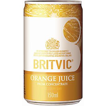 Britvic Orange Juice Cans