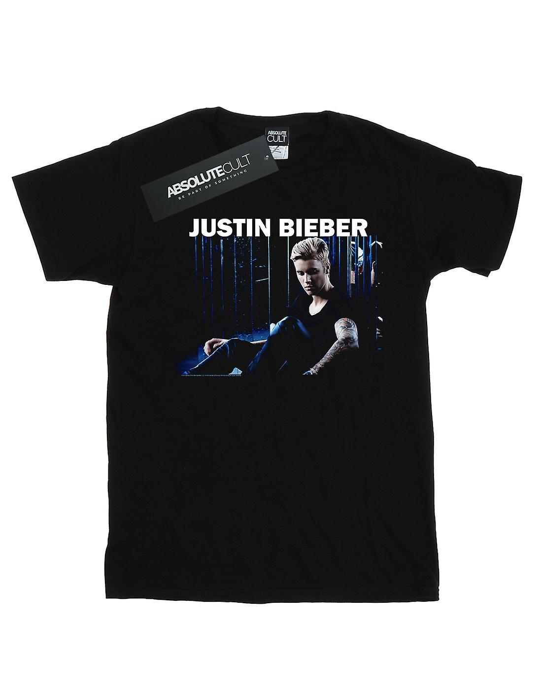 Justin Bieber Girls Sitting Shadows T-Shirt
