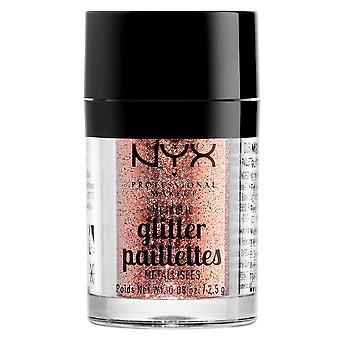 NYX PROF. make-up metallic glitter Dubai brons 2, 5g