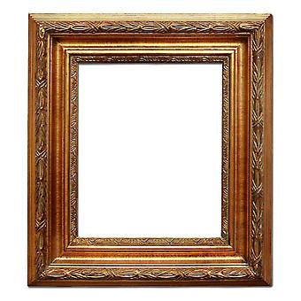 25x30 cm or 10x12 inch, gold Frame