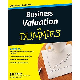 Business Valuation for Dummies by Lisa Holton - Jim Bates - 978047034