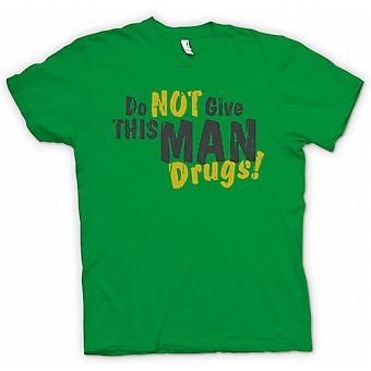 Kids T-shirt - Do Not Give This Man Drugs - Funny