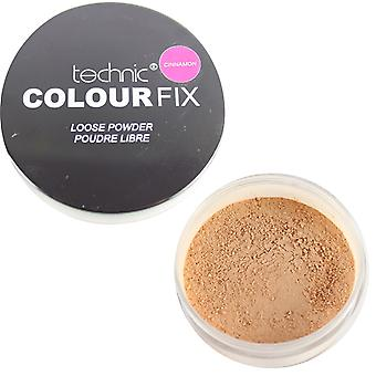 Technic Colour Fix Loose Powder- Cinnamon