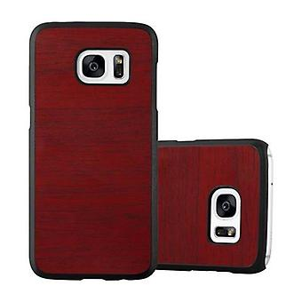 Cadorabo tapauksessa Samsung Galaxy S7 tapauksessa tapauksessa kansi - Kovakotelo muovinen puhelin kotelo naarmuja ja kuoppia - suojakotelo puskurin Ultra Slim Back Case Kova kansi