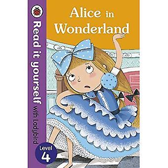 Alice in Wonderland - Lees het zelf met lieveheersbeestje: niveau 4 (Lees het zelf niveau 4)