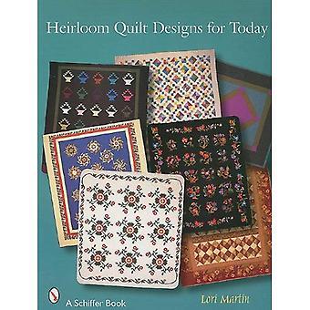 Desenhos de Quilt da herança para hoje