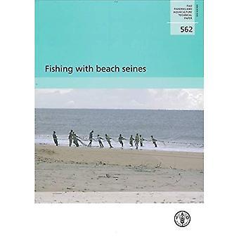Vissen met strandzegens