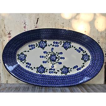 45.5 x 27 cm, plate, oval, tradition 9 - BSN 1552