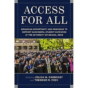 Accès pour tous: expansion occasion et des programmes pour soutenir les résultats des élèves avec succès à l'Université du Nevada, Reno