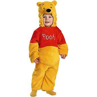 Plush Winnie The Pooh Toddler Costume